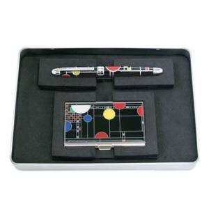 フランクロイドライト ACME PLAYHOUSE SET ペン&カードケース クーンレイ プレイハウス ボールペン 名刺入れ メンズ antdesignstore