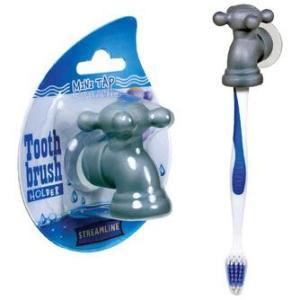 蛇口の歯ブラシホルダー ハブラシ フック バスルーム 洗面所 髭剃りホルダー 小物|antdesignstore