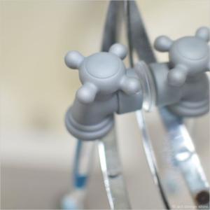 蛇口の歯ブラシホルダー ハブラシ フック バスルーム 洗面所 髭剃りホルダー 小物|antdesignstore|03
