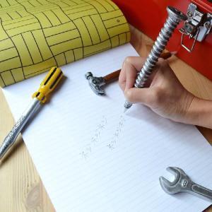 工具ボールペン I ボールペン ペン 工具 ネジ ドライバー レンチ ハンマー antdesignstore