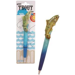(メール便対応可) トラウトボールペン マス ニジマス イワナ 川魚 魚 フィッシュ オシャレ|antdesignstore