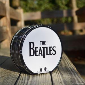 ビートルズ ドラム ブリキトート エンボス The Beatles ランチボックス ドーム型 ブリキ缶ランチボックス|antdesignstore|02
