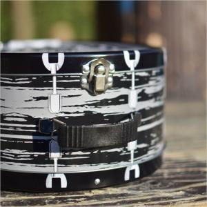 ビートルズ ドラム ブリキトート エンボス The Beatles ランチボックス ドーム型 ブリキ缶ランチボックス|antdesignstore|03