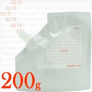 ホーユー 3210/ミニーレ ニュートラルワックス 200g 【リフィル/レフィル/詰め替え】|antec35