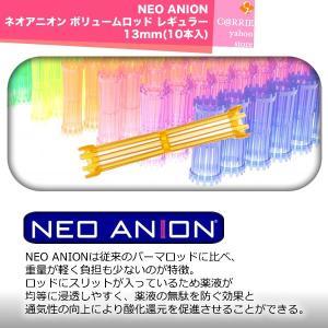 NEO ANION ネオアニオン ボリュームロッド レギュラー 13mm(10本入)|antec35