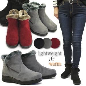 ムートンブーツ 靴 レディース 歩きやすい 暖かブーツ フェ...