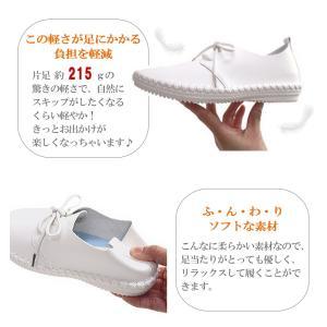 フラットシューズ  靴 レディース 歩きやすい レースアップ アンナコレクション|antelope|05