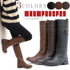ジョッキーブーツ ロングブーツ 靴 レディース 歩きやすい セミラウンドトゥ ローヒール ウェスタン antelope