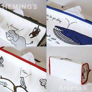 HEMING'S tente enfant ティッシュケース ティッシュボックス ティッシュBOX 詰め替え|antena5|02
