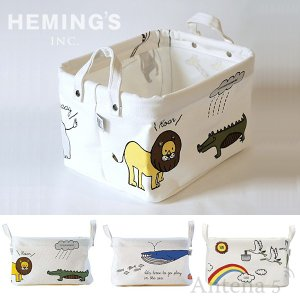 HEMING'S Pilier Square Short 【S】 enfant 収納ボックス ストレージボックス アンファン antena5