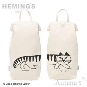 HEMING'S tirer LISA LARSON スケッチ ビニール袋収納ケース ゴミ袋 キッチン収納 台所用品 レジ袋 ポリ袋|antena5