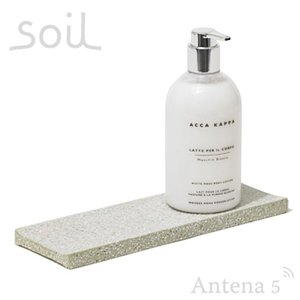 SOIL ディスペンサートレイ 水滴 しずく 置き シンク 洗面台 石鹸 石けん 手洗い 食器洗い 水濡れ|antena5