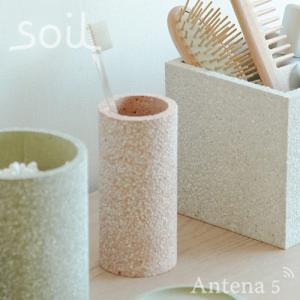 SOIL 歯ブラシスタンド ソイル 珪藻土 湿気 水滴 吸湿 洗面台 天然素材 歯ブラシ立て|antena5|02
