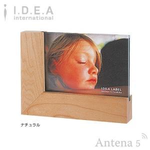 IDEA LABEL ウッドフォトフレーム small 写真立て メイプル材 天然木 北欧 インテリア デザイン雑貨 イデアレーベル|antena5