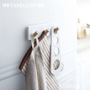 Yamazaki tosca マグネットキッチンツールフック 3連 トスカ ヤマザキ キッチン収納 デザイン雑貨 北欧 山崎実業|antena5