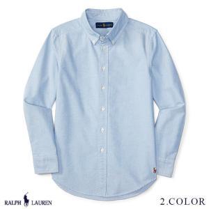 ラルフローレン シャツ RALPH LAUREN boys Cotton Blake Uniform Shirt シャツ 250053 予約 9月5〜発送予定 ゆうパケットで送料無料 s-m|anthem