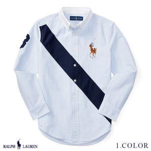 ポロ ラルフローレン ビッグポニー オックスフォード シャツ RALPH LAUREN boys Banner Cotton Oxford Shirt 383256 ゆうパケット送料無料 9月5〜発送予定 s-m|anthem
