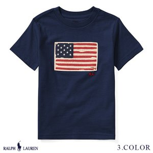 ポロ ラルフローレン Tシャツ 半袖 TEE ジャージー RALPH LAUREN boys Flag Cotton Jersey T-Shirt 422178 ゆうパケット送料無料 9月12〜発送予定 s-m|anthem