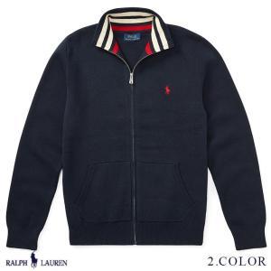ラルフローレン トップス セーター フルジップ RALPH LAUREN boys Cotton F...