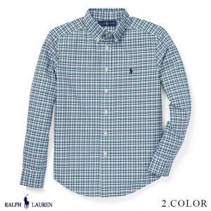ラルフローレン プラッド オックスフォード シャツ RALPH LAUREN boys Plaid Cotton Oxford Shirt 444608 ゆうパケットで送料無料 s-m|anthem