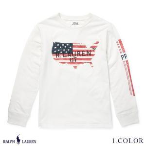 ラルフローレン トップス Tシャツ 長袖 ジャージー RALPH LAUREN boys Cotton Jersey Graphic Tee 459311 予約 9月12〜発送予定 ゆうパケット送料無料 s-m|anthem