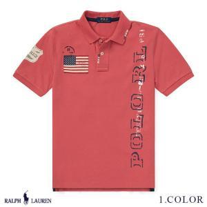 ラルフローレン ポロシャツ RALPH LAUREN boys Cotton Mesh Graphic Polo 459323 ゆうパケットで送料無料 s-m|anthem