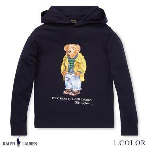 ポロ ラルフローレン ポロベアー プルオーバー フード パーカー RALPH LAUREN boys Polo Bear Hooded T-Shirt 462435 ゆうパケット送料無料 9月12〜発送予定 s-m|anthem