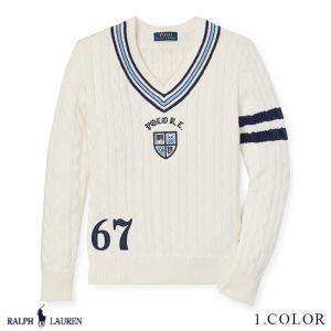 ラルフローレン トップス Vネック セーター コットン RALPH LAUREN boys Cotton Cricket Sweater 474118  予約 9月5〜発送予定 s-s|anthem