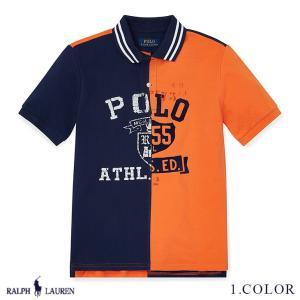 ラルフローレン ポロシャツ RALPH LAUREN boys Cotton Mesh Graphic Polo Shirt 474178 ゆうパケットで送料無料 s-m|anthem