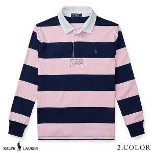 ラルフローレン ラグビーシャツ ラガーシャツ RALPH LAUREN boys Striped Cotton Rugby Shirt 474180 ゆうパケットで送料無料 s-m|anthem