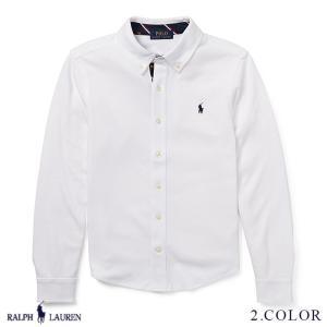ラルフローレン コットン インターロック シャツ RALPH LAUREN boys Cotton Interlock Shirt 474186 ゆうパケットで送料無料  予約 9月5〜発送予定 s-m|anthem