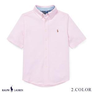 ラルフローレン コットン ニット オックスフォード シャツ RALPH LAUREN boys Knit Cotton Oxford Shirt 474187 ゆうパケットで送料無料 10月10〜発送予定 s-m|anthem