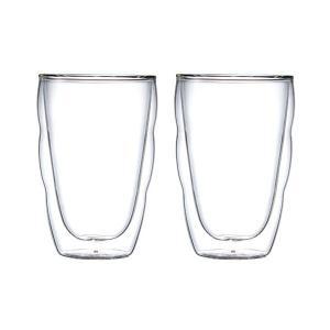 bodum(ボダム) ピラトゥスダブルウォールグラス0.35L