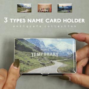 アクティブなデザインのカードケース 名刺入れ インパクト アウトドア 商談 新生活 就職 プレゼント bbg|antiqcafe