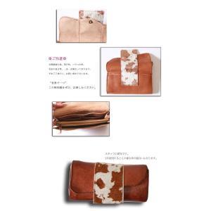 本場仕込み製法、日本製。使いこむほど味のでるハラコ本革財布・再再販。(100)メール便可|antiqua|04