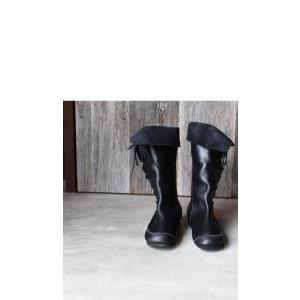 靴 クツ ブーツ レザー 本革編み上げブーツ・再販。##メール便不可 antiqua 14