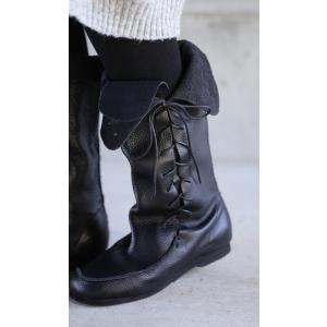 靴 クツ ブーツ レザー 本革編み上げブーツ・再販。##メール便不可 antiqua 18
