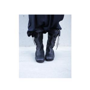 靴 クツ ブーツ レザー 本革編み上げブーツ・再販。##メール便不可 antiqua 19