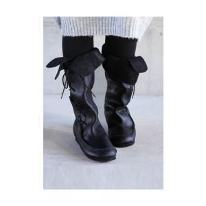 靴 クツ ブーツ レザー 本革編み上げブーツ・再販。##メール便不可 antiqua 03