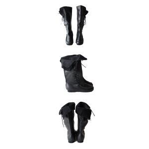 靴 クツ ブーツ レザー 本革編み上げブーツ・再販。##メール便不可 antiqua 06