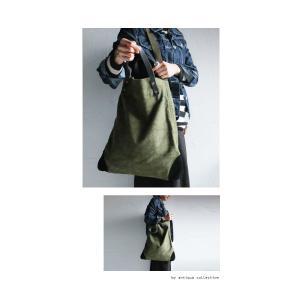 絶妙イロオチ、抜群のくたっと感。本革持ち手バッグ・1月12日20時〜再再販。##メール便不可|antiqua|07
