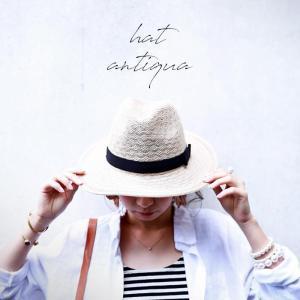 中折れ ハット 帽子 レディース・再再販。デザインハット##メール便不可|antiqua