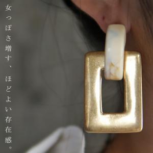 ピアス アクセサリー レディース ゴールド 大ぶり ビッグ デザインピアス・6月22日20時〜発売。(30)メール便可|antiqua