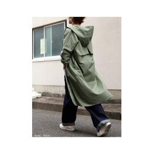 アウター コート トレンチ フード ロングスリーブコート・2月9日20時〜発売。##メール便不可|antiqua|04
