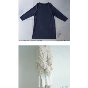 ワンピース レディース 半袖 Tシャツ 綿 綿100 Tシャツワンピ・6月20日20時〜発売。メール便不可 antiqua 06
