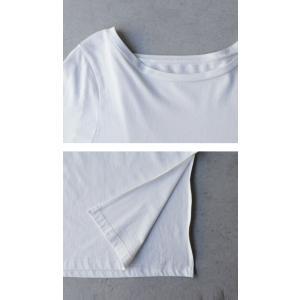 ワンピース レディース 半袖 Tシャツ 綿 綿100 Tシャツワンピ・6月20日20時〜発売。メール便不可 antiqua 10