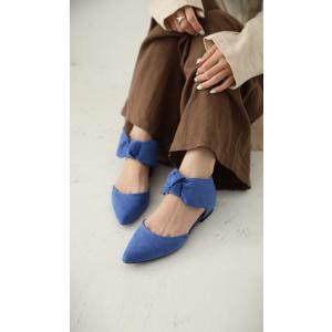 靴 リボン パンプス ペタンコ 大人 デザインリボンパンプス・3月25日20時〜再再販。メール便不可|antiqua|13