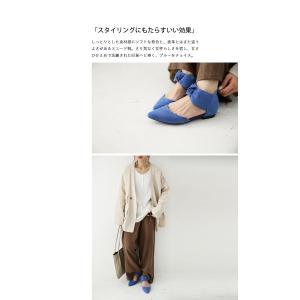 靴 リボン パンプス ペタンコ 大人 デザインリボンパンプス・3月25日20時〜再再販。メール便不可|antiqua|14