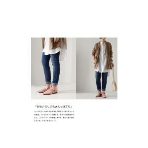 靴 リボン パンプス ペタンコ 大人 デザインリボンパンプス・3月25日20時〜再再販。メール便不可|antiqua|19