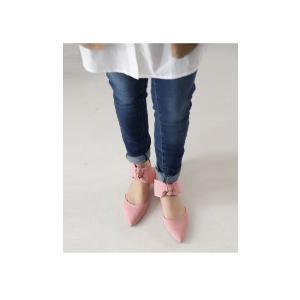 靴 リボン パンプス ペタンコ 大人 デザインリボンパンプス・3月25日20時〜再再販。メール便不可|antiqua|04